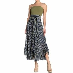 NWT Free People Giselle Handkerchief Maxi Skirt